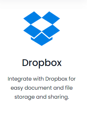 Vtiger integration dropbox