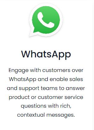 Vtiger integration whatsapp