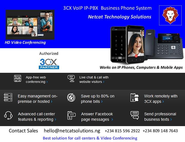 netcat technology 3CX VoIP IP-PBX